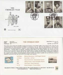 2004-10-12 The Crimean War Stamps London E4 FDC (83257)