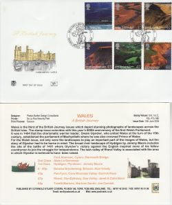 2004-06-15 Wales A British Journey Tenby FDC (83260)