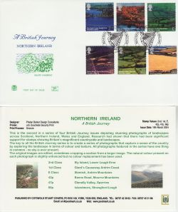 2004-03-16 Northern Ireland Stamps Belfast FDC (83264)