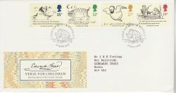 1988-09-06 Edward Lear Stamps London N7 FDC (83393)