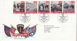 1994-06-06 D-Day Stamps Bureau FDC (83421)