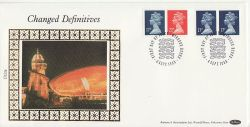 1990-09-04 Definitive Booklet Stamps Windsor FDC (83557)