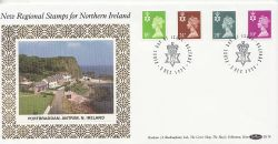 1991-12-03 N Ireland Definitive Stamps Belfast FDC (83578)