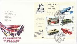 2003-09-18 Transports of Delight M/S Toye FDC (83670)