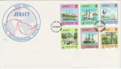 1980-10-01 Jersey Operation Drake Stamps FDC (83748)