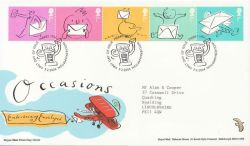 2004-02-03 Occasions Stamps Merry Hill FDC (83766)