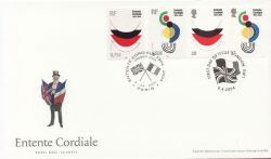 2004-04-06 Entente Cordiale GB / France FDC (83768)