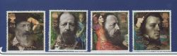 1992-03-10 Tennyson Stamps Used Set (83945)