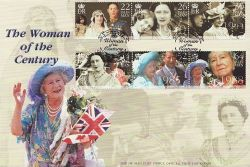 2000-02-29 IOM Queen Mother Stamps FDC (83995)