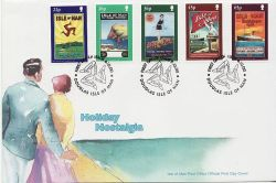 2000-10-06 IOM Holiday Nostalgia Stamps FDC (83999)
