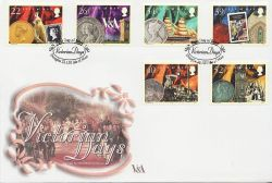 2001-01-22 IOM Victorian Days Stamps FDC (84004)