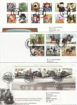 2014 Bulk Buy x15 First Day Covers with T/House Pmks (84235)