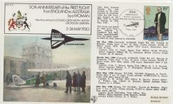FF16 England to Australia Amy Johnson Flight Anniv (84409)