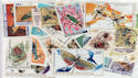 Worldwide x50 Insect Stamps in packet (J22)