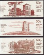 1982 Follies FB19 FB20 and FB22 Booklet Stamps (66244)