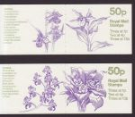 1985 FB28 FB29 Orchid Booklet Stamps (66246)