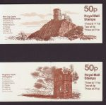 1981 FB17 FB18 Follies Booklet Stamps (66252)