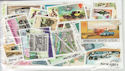 Worldwide x50 Transport Theme Stamps in packet (J34)