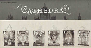 2008-05-13 Cathedrals Stamps Presentation Pack (P413)