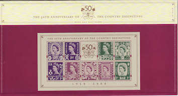2008-09-29 Country Definitives M/S Presentation Pack (P416b)