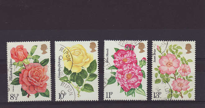 Rose Stamps 1976