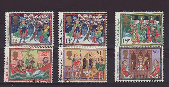 Christmas Stamps 1986