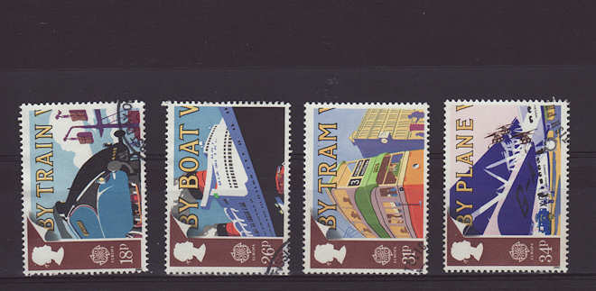 Europa Transport Stamps 1988