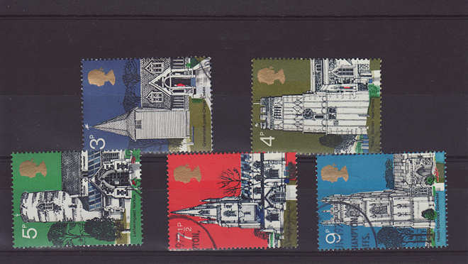 Village Churches Stamps 1972