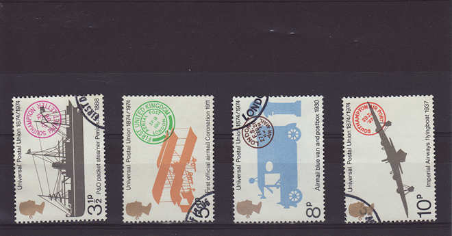 Universal Postal Union Stamps 1974