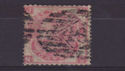 1865-67 QV SG92 3d plate 4 used stamp (qvb60)