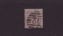 1855-57 QV SG69 6d lilac used stamp (qvb67)