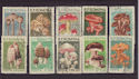 1958 Rumania Mushrooms SG2583/92 Used Set (S2420)