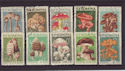 1958 Rumania Mushrooms SG2583/92 Used Set (S2422)