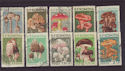 1958 Rumania Mushrooms SG2583/92 Used Set (S2423)