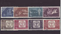 1958 Rumania Stamp Centenary SG2617/24 Used Set (S2427)