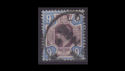 1902-13 KEVII SG307 9d purple and blue used (s2538)