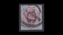 1902-13 KEVII SG307 9d purple and blue used (s2540)