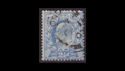 1902-13 KEVII SG231 2½d blue used (S2550)