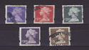 GB x5 Small Machin High Values Definitive (S2632)