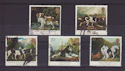 1991-01-08 Dog Stamps Used Set (S2890)