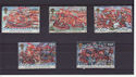 1988-07-19 The Armada Stamps Used Set (s2976)
