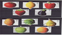 2003-03-25 Fruit and Veg Stamps Used Set (s2977)