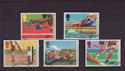 1986-07-15 SG1328-32 Commonwealth Games Used Set