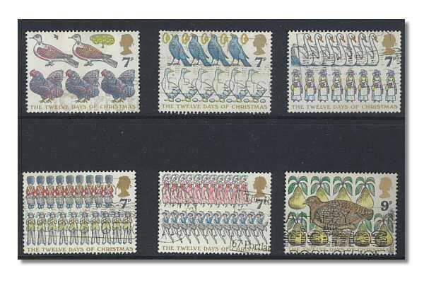 Christmas Stamps 1977