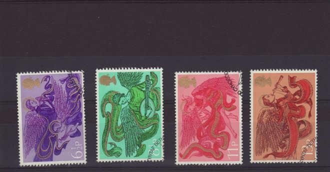 Christmas Stamps 1975