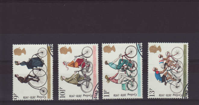 Cycling Stamps 1978
