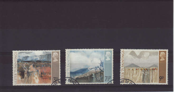 Ulster Paintings Stamps 1971
