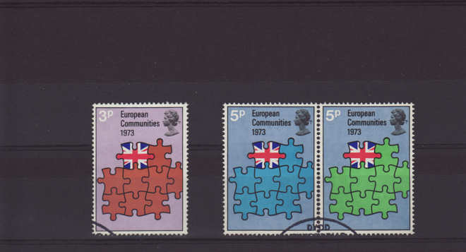 European Communities Stamps 1973