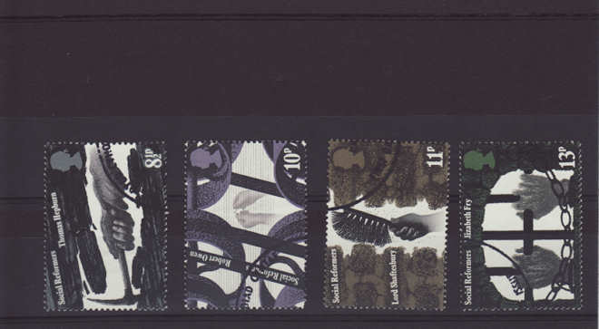 Social Reformers Stamps 1976