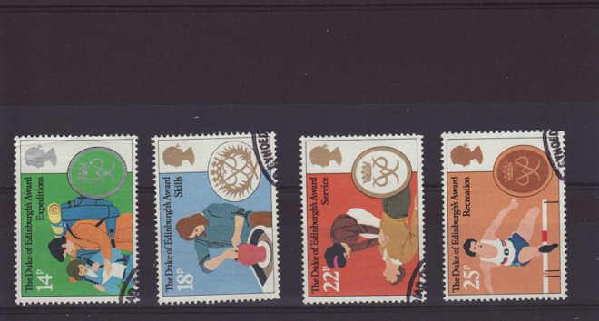 Duke of Edinburgh Award Stamps 1981